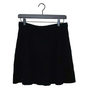 Hollister skater/circle/a-line skirt with cutouts